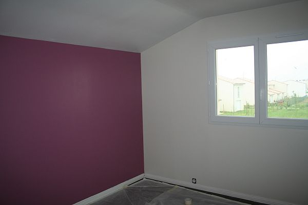 Populaire Peinture Chambre Violet. Good Ides Duintrieur Pour Associer La  SY74